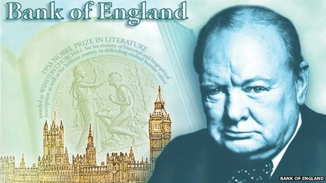 Sir Winston Churchill bank note