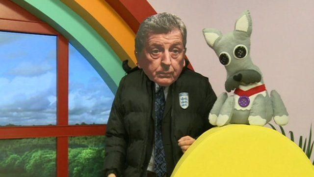 A bedtime story from Roy Hodgson... or is it?