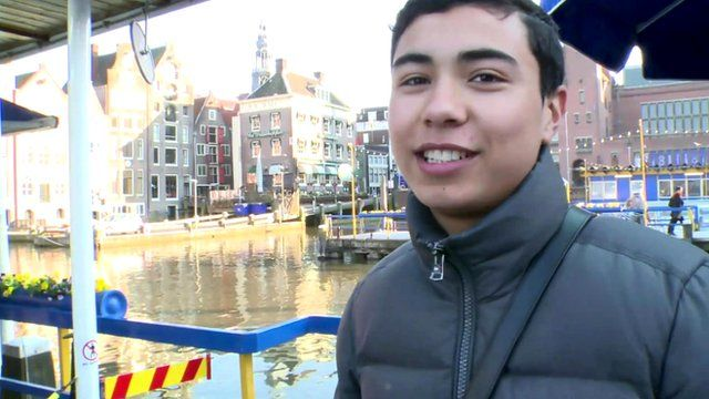 People in Amsterdam