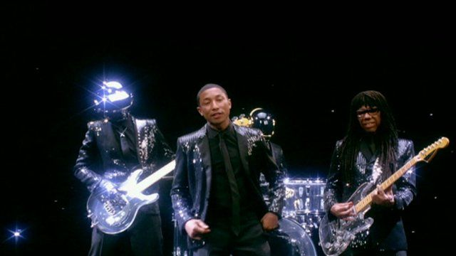Daft Punk featuring Pharrell Williams