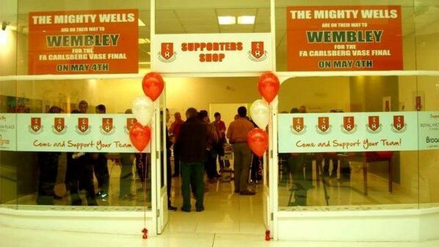Tunbridge Wells FC supporters shop