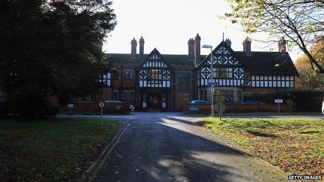 The former Bryn Estyn children's home near Wrexham