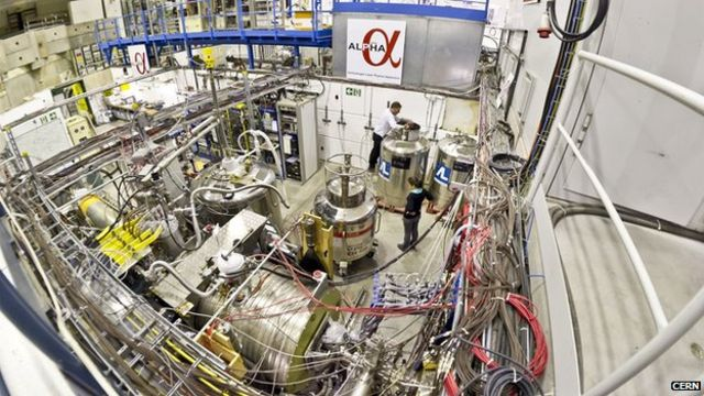 Antigravity gets first test at Cern's Alpha experiment