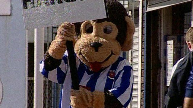 Stuart Drummond as H'angus the Monkey