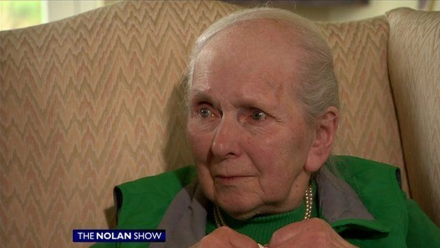 Jean Faulkner says she has been told to leave her care home by November.