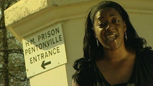 Ava Vidal outside prison