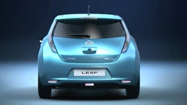 Is Nissan S Electric Car The Choice Of Future Drivers Bbc News