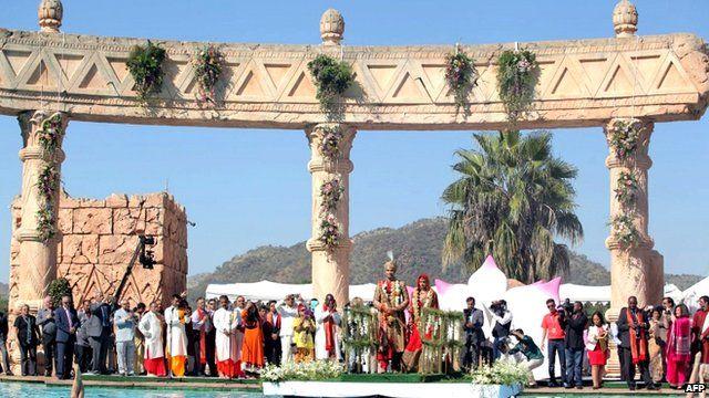 Gupta family wedding