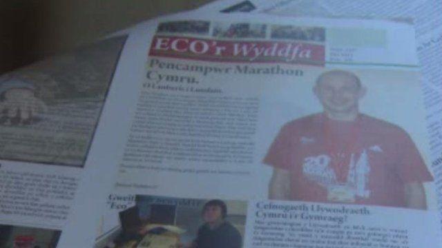 Rhifyn mis Mai o 'Eco'r Wyddfa'