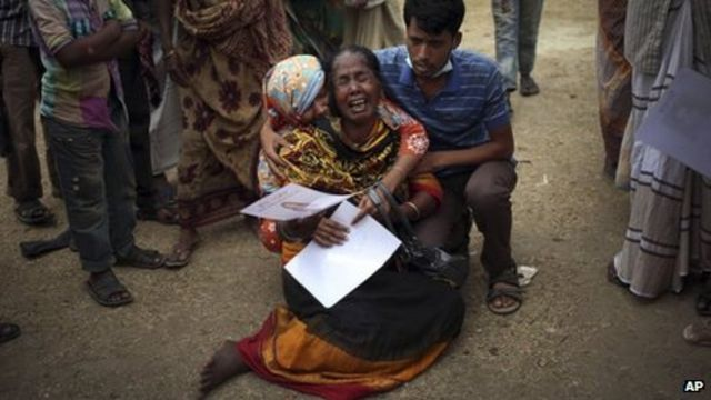 Bangladesh Rana Plaza factory collapse toll passes 600