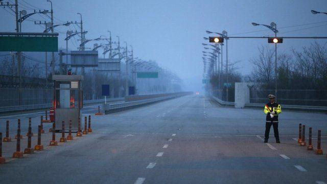 Kaesong entrance