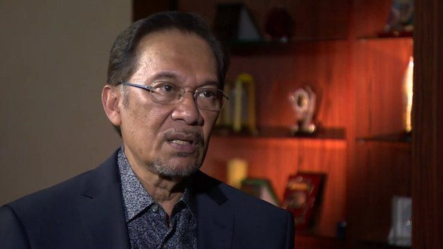 Anwar Ibrahim, Leader of the Opposition party in Malaysia
