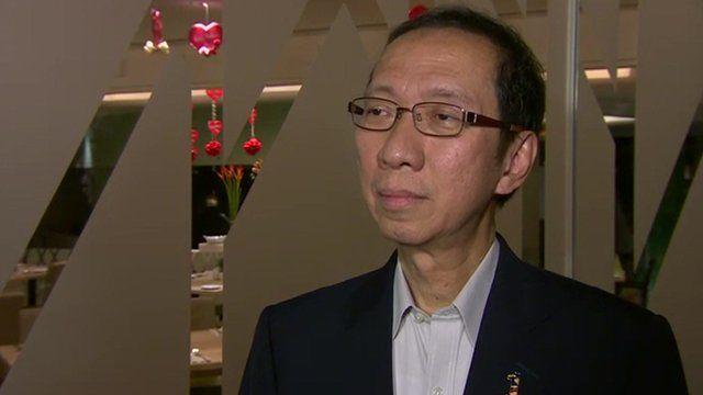 Malaysia cabinet minister Tan Sri Dr. Koh Tsu Koon