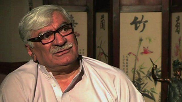 ANP Party leader Asfandyar Wali Khan