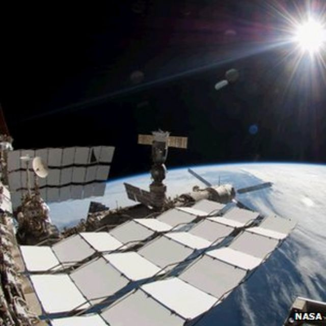 Astronauts replace pump on emergency spacewalk