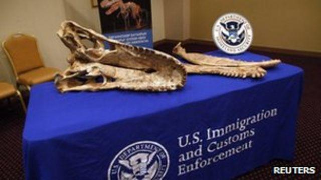 US to return more smuggled dinosaurs to Mongolia