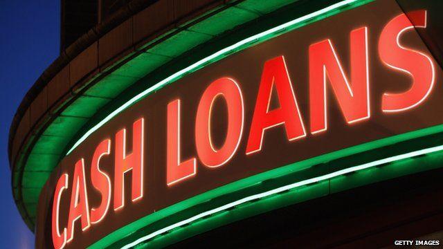 "A general view of a ""Speedy Cash"" cash loans shop on Brixton High Street"