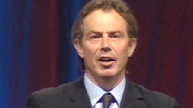 Tony Blair (archive pic)