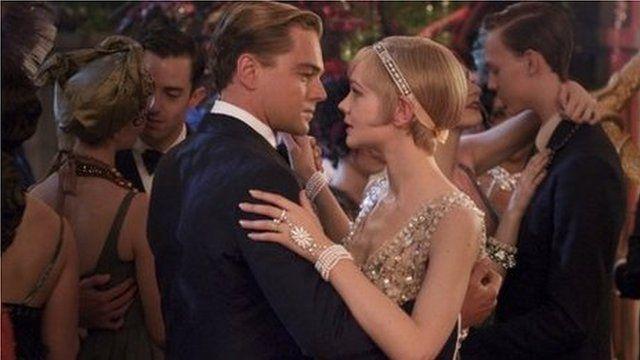 Leonardo DiCaprio and Carey Mulligan in The Great Gatsby