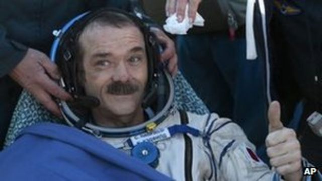 Chris Hadfield: 'Space was too good not to share it'