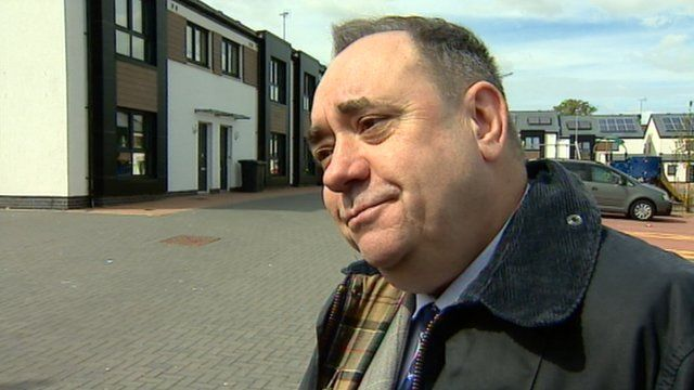 "Alex Salmond: ""You have got to get things into context"""