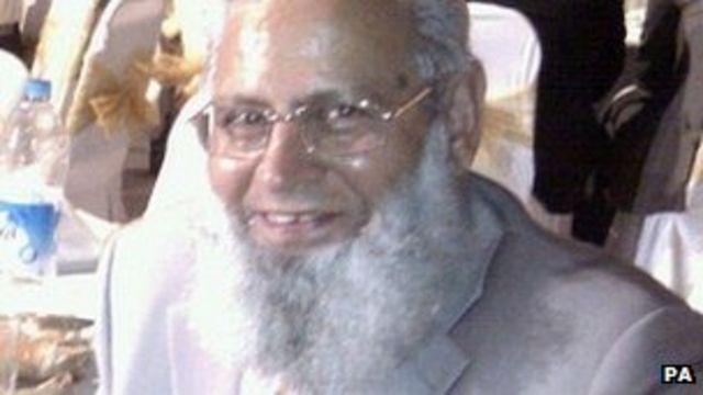 Mosque blast terror suspect held over Mohammed Saleem murder