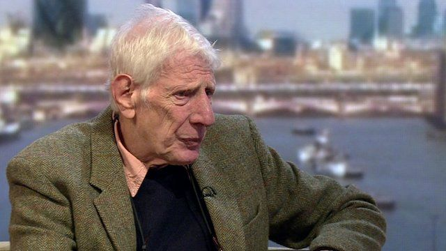 Director Sir Jonathan Miller on the Andrew Marr Show