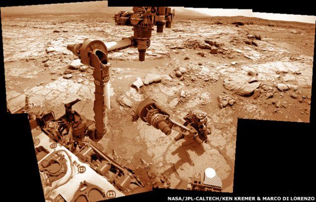 Nasa's Curiosity Mars rover drills second rock sample