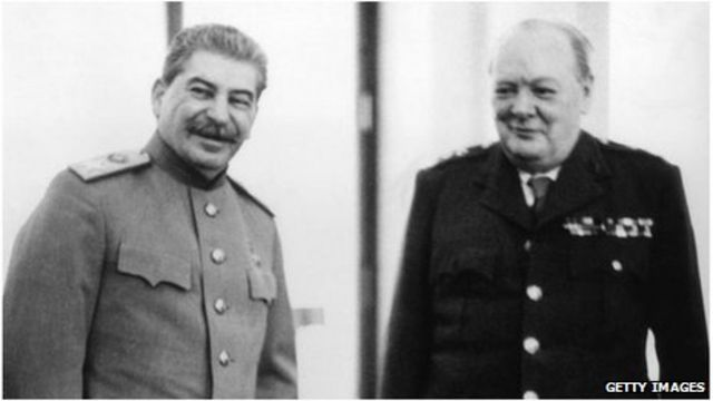 Churchill and Stalin made 'merry' until early hours