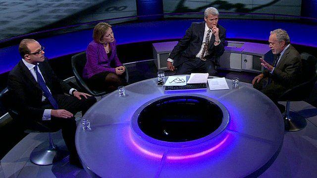 Economists join Jeremy in the Newsnight studio