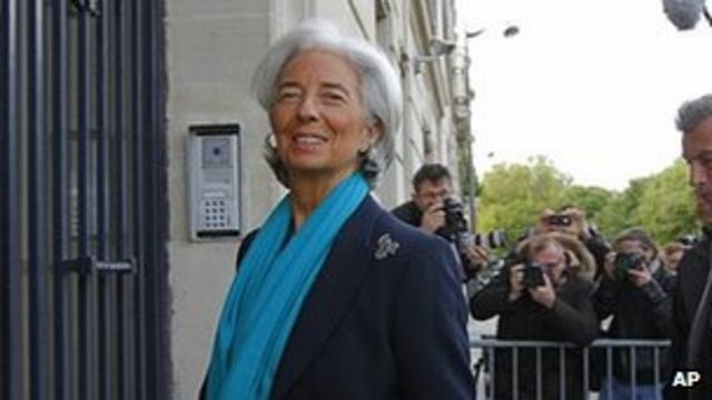 French court questions IMF chief Christine Lagarde