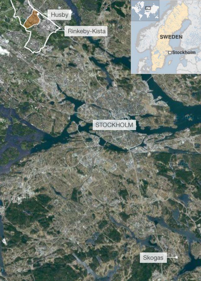 Stockholm riots throw spotlight on Swedish inequality