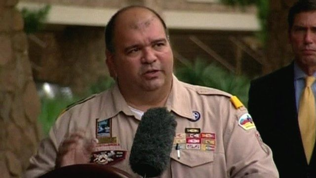 The National Commissioner of Boy Scouts America, Tico Perez