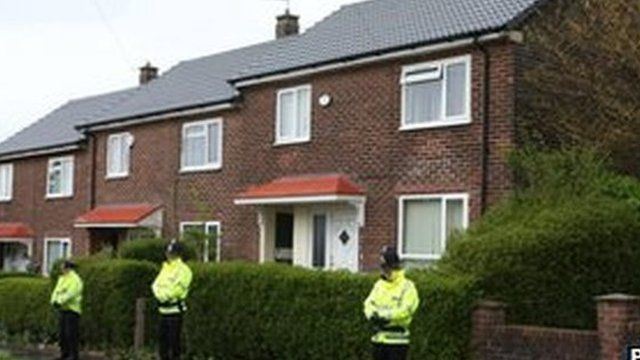 Estate where Lee Rigby lived