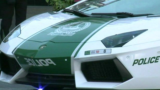 Police supercars