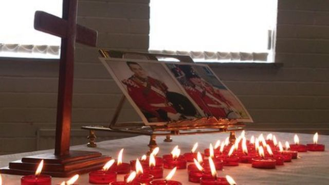 Woolwich attack: Service for Drummer Lee Rigby