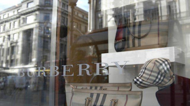 Burberry shop front