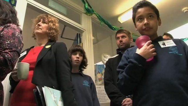 Primary school pupils and teachers