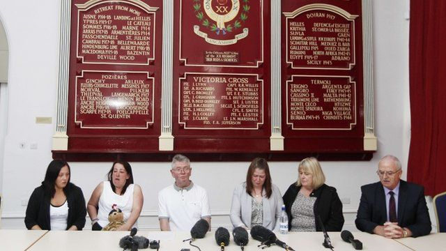 Rigby family at news conference
