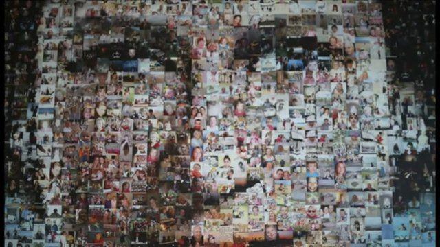 Diamond Jubilee photo mosaic