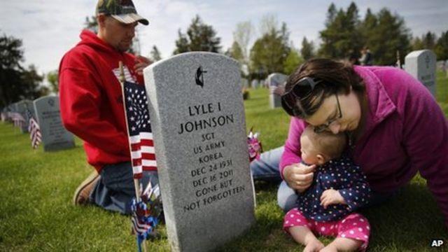 US honours war dead on Memorial Day