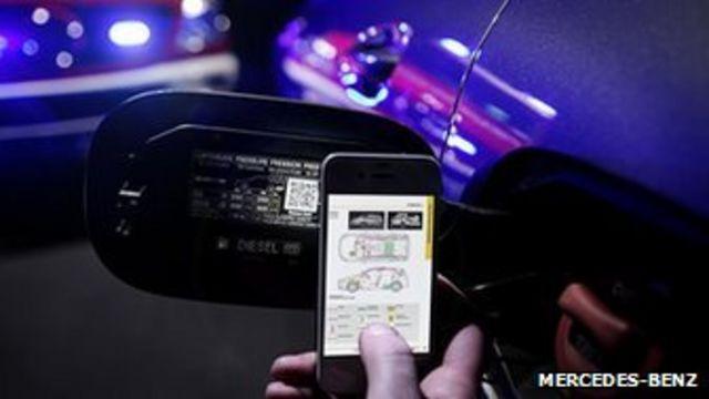 Mercedes-Benz adds QR codes to save car crash victims