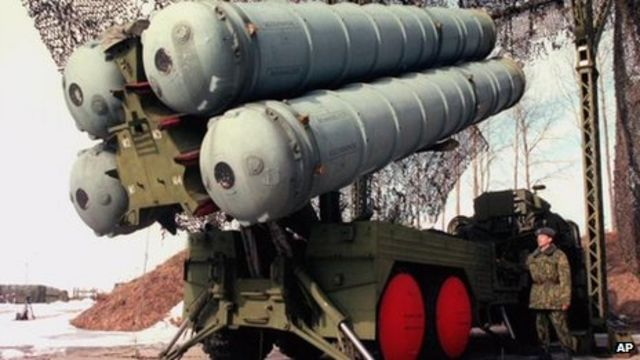 Russian arms 'to deter foreign intervention in Syria'