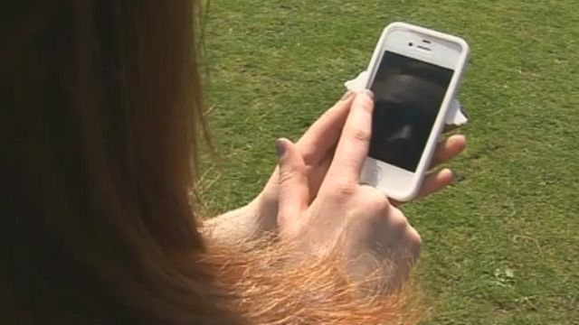 Student Mari Roberts' phone recorded the earthquake