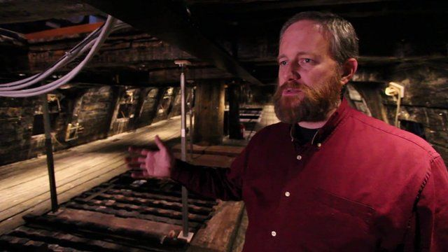 Dr Fred Hocker, Director of Research at Vasa Museum