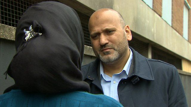Mohammed Khaliel and Muslim woman