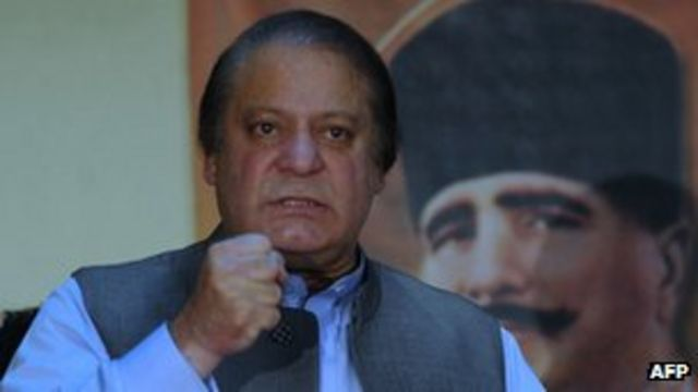 Pakistan's Sharif condemns US drone strike on Taliban