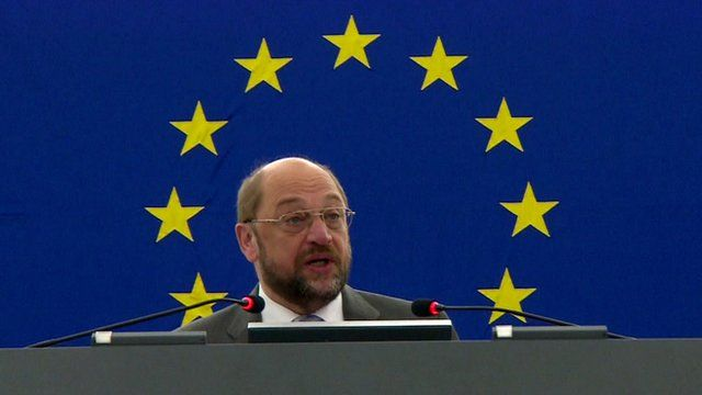 President of the European Parliament, Martin Schulz MEP