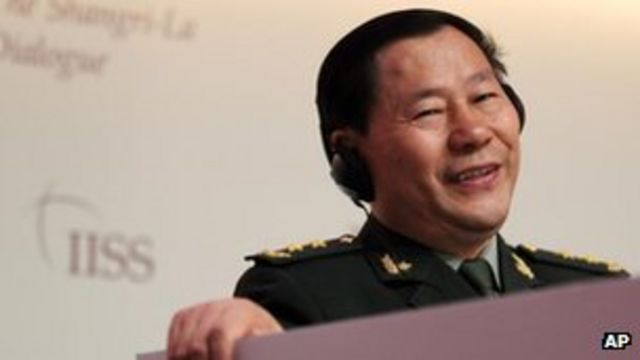 China general defends maritime role in island disputes