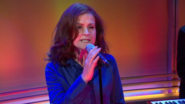 Alison Moyet on the Andrew Marr Show